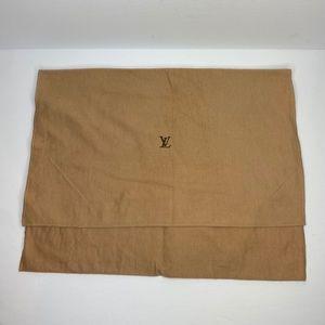 LOUIS VUITTON DUST BAG AUTHENTIC MEDIUM 17.5 x13.5